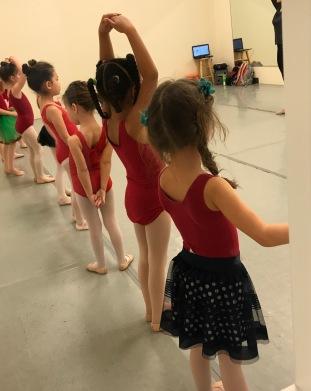 Ally at Ballet