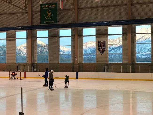 Kash at hockey