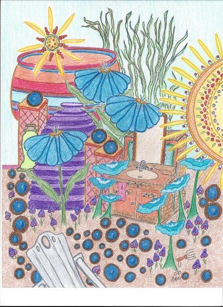 Multi Color Pots